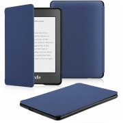 Funda Microfibra Fibra Kindle Paperwhite Waterpoof Azul
