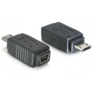 USB adapter Micro B/Mini 5pin DeLock 65063