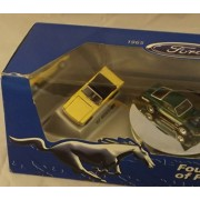 Hot Wheels Collectibles - Ford - Four Decades of Pony Power (1965-1997) - 3 Car Ford Mustang Display Set - 1:64 Scale Collectible Die Cast Cars