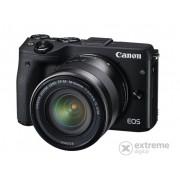 Kit aparat foto Canon EOS M3 (cu obiectiv 18-55 S)