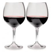 GSI Outdoors Set de pahare GSI Nesting Red Wine Glass Set