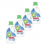 Pachet promo 4 x Ariel Detergent lichid 2.2L 40 spalari Touch of Lenor Fresh