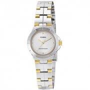 Casio Enticer Analog Silver Dial Womens Watch - Ltp-1242Sg-7Cdf (A907)