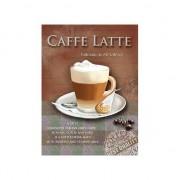 Merkloos Wand decoratie Caffe Latte