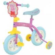 """Bicicleta cu/fara pedale 2in1 MVS Peppa Pig 10"""""""