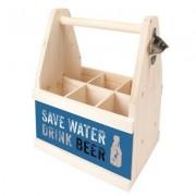 Contento Bierträger Save water drink beer