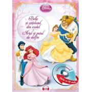 Belle si catelusul din castel. Ariel si puiul de delfin (carte cu CD audio)
