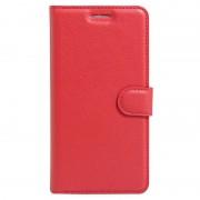 Bolsa tipo Carteira Texturizada para Huawei Honor 8 - Vermelho