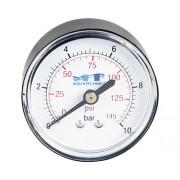 """Manometru, 10 bar,conector 1/4"""",axial"""