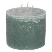 Dille&Kamille Bougie bloc, vert eucalyptus, 12 x 10 cm