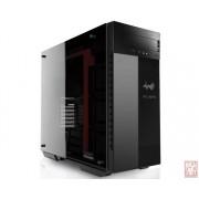 "IN-WIN 509, E-ATX Full Tower, no PSU, 1x5.25"", 5x3.5"", 4x2.5"", 3xEZ-Swap, Tempered Glass, Black-Red"