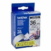 Brother TZE161 folytonos laminált szalag, 36mm, 8m