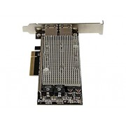 10g Network Card - 2 Port - 10GBase-T - Dual 100/1000/10g RJ45 Ports - Intel X540 chipset - PCIe Ethernet Card - Intel NIC Card