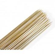 Palito Vareta de Bambu para Espetinho de 30cm - Pacote com 1000