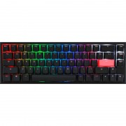 Tastatura gaming DUCKY One 2 SF RGB Cherry MX Speed Silver Mecanica Black