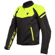 Dainese Bora Air Tex Jacket Black/Fluo Yellow 58