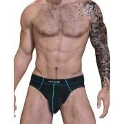 WildmanT Stitch Big Boy Pouch Brief Underwear Blue STI-BR