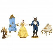 Disney Beauty and the Beast - Set figurine Frumoasa si Bestia