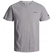 Jack&Jones Tricou pentru bărbați Gonzo Tee Ss Crew Neck Light Grey Melange Slim M