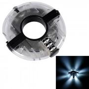 ruedas de bicicleta de luz blanca luces de la rueda de la lampara magica - transparente