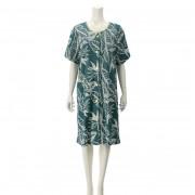 Cozyfeels ストレリチア 前開き タオルドレス【QVC】40代・50代レディースファッション