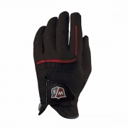Wilson Staff Grip Plus Black Men Medium Left Hand Golf Glove
