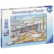PUZZLE SANTIER AEROPORT, 100 PIESE - RAVENSBURGER (RVSPC10624)