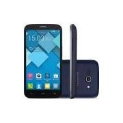 Smartphone Alcatel Pop C9 Dual Chip Desbloqueado Claro Android 4.2 5.5 4GB 3G 8MP 1.3GHz - Cinza