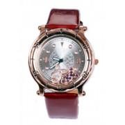Дамски часовник с лачена каишка