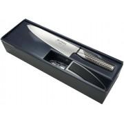 Zestaw Global Starter Nóż G-2 + Ostrzałka MinoSharp
