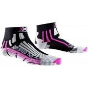 X-Socks Run Speed Two Hardloopsokken Dames roze/zwart 37/38 2018 Hardloopsokken