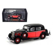 1935 Maybach Sw35 Spohn , Black & Red Signature Models 43702 1/43 Scale Diecast Model Toy Car