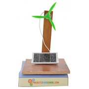 Solar Power Fan Circuit Kit/ working science model/ solar energy conversion kit