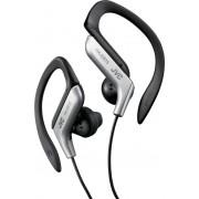 JVC Ha-Eb75-S-E Auricolari Sport Mp3 Cuffie Stereo Con Filo Colore Nero / Argento - Ha-Eb75-S-E