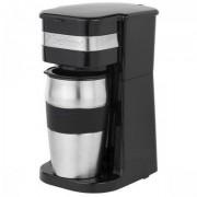 Bestron Singlehaushalt Kaffeemaschine mit Thermosbecher für den Arbeitsweg