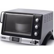 Cuptor electric DeLonghi Pangourmet EOB 2071 1400 W 20 l 220 grade Grill Functie coacere paine Display Negru/Arg