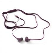 HTC Auricolare Originale Stereo In-Ear Rc E190 Purple Bulk Per Modelli A Marchio