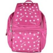 Creative Bazaar Women's PU Leather Backpacks 5 L Backpack(Pink)