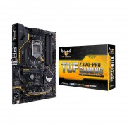 Tarjeta Madre ASUS TUF Z370-PRO GAMING 4xDDR4 3xPCI-E USB3 Socket 1151-v2-Negro