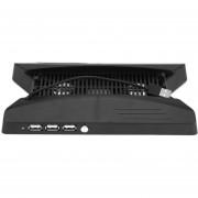 Soporte Vertical Tipo Disco De Juego Titular De Almacenamiento De Carga USB Para PS4 PRO
