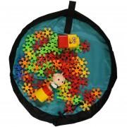 Louiwill Suoy® Bolsa De Almacenamiento Multifunción Con Cordón Plegable Kids Play-Mat Toy Organizador Bolsas De Viaje