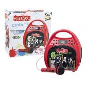 Giochi Preziosi Alex & Co Canta Tu Speaker Party Box with Bluetooth Device Karaoke Machine