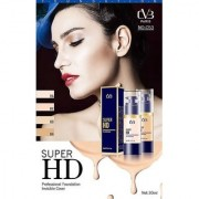 Super HD Professional Foundation Invisible Cover 30ml Pack Of 02