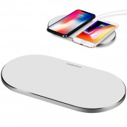 MOMAX UD11 Q.PAD PRO 5000mAh Wireless Charger Fast Charging Pad (Not Support FOD Function) - White