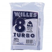 Willes 8 kg Turbo 50-pack