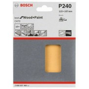 Bosch Slippapper för planslip 115x107 mm Bosch Best 10-pack (240)