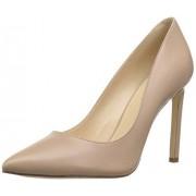 NINE WEST Tatiana Zapatos de tacón para Mujer (Piel), Natural, 8.5 US
