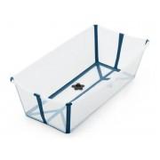 Stokke Baignoire pliante flexi bath® x-large transparent bleu
