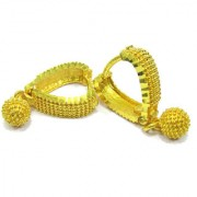 Rabbi Gold plated Small Cute Bentex Earing High quality