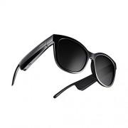 Bose Frames Soprano: Lentes de Sol polarizados con Bluetooth Tipo Ojo de Gato, Negro